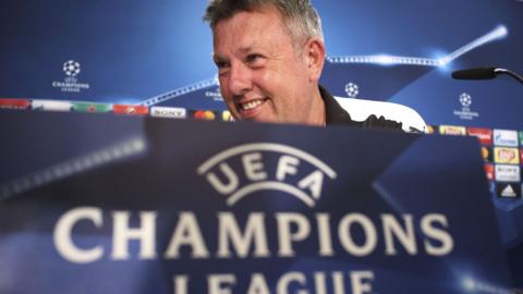 Craig Shakespeare Champions League