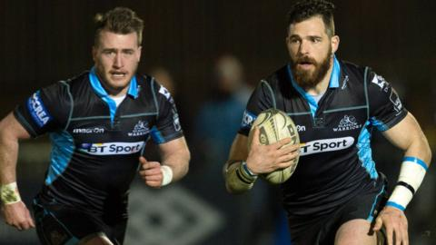 Sean Lamont in action for Glasgow Warriors