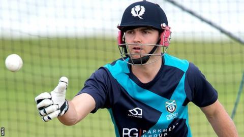 Former Scotland cricket captain Preston Mommsen