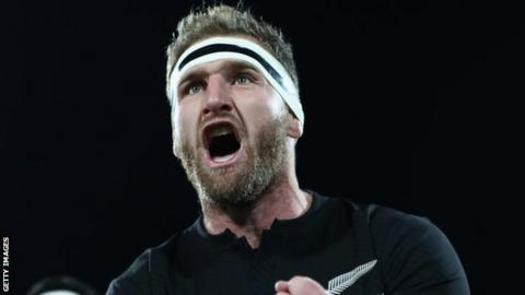 New Zealand captain Kieran Read