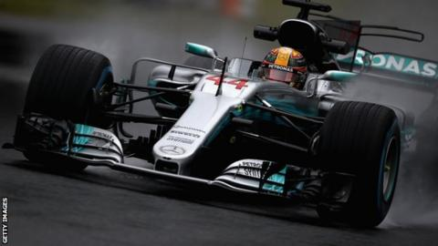 Japanese Grand Prix: Lewis Hamilton says Mercedes feels 'strong' at Suzuka