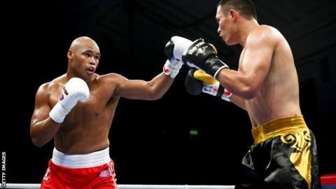 British super-heavyweight boxer Frazer Clarke