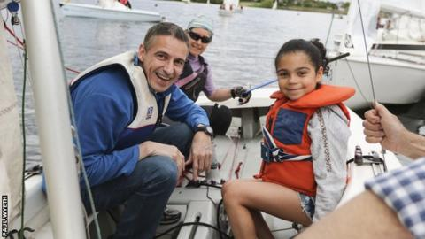 Free and low-cost sessions mean the whole family can take part in Push the Boat Out