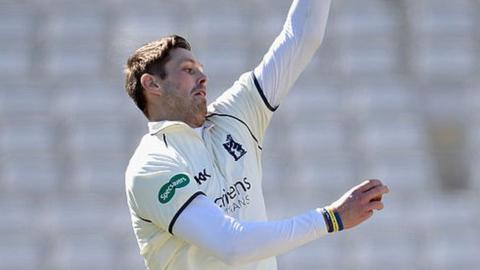 Warwickshire and Ireland fast bowler Boyd Rankin