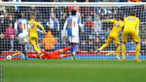 Preston equalise at Blackburn