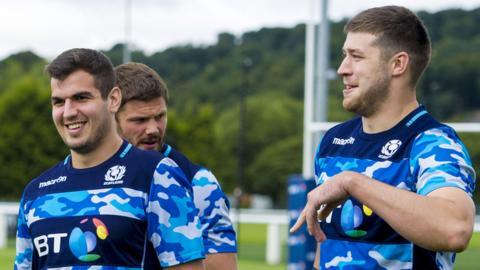 Stuart McInally and Grant Gilchrist