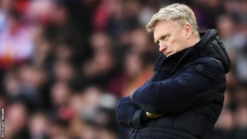David Moyes: Sunderland survival mission has fallen behind schedule