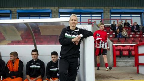 Shelley Kerr in her role with Stirling University