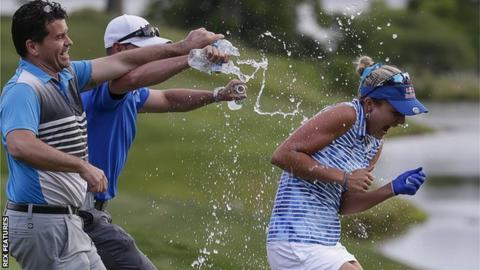Near-flawless Lexi Thompson wins wire-to-wire at Kingsmill