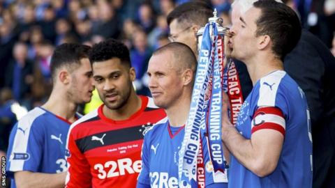 Rangers are the Challenge Cup holders