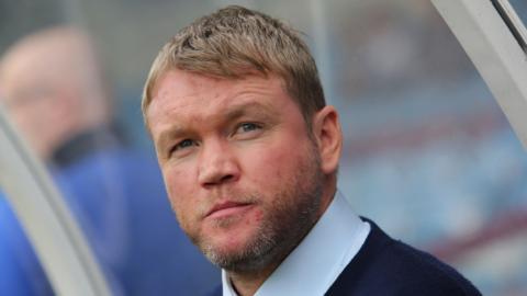 Peterborough manager Grant McCann