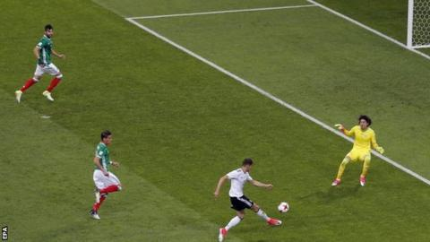 Germany put four past Mexico to set up Confederations Cup final v Chile