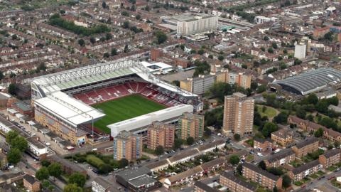 West Ham's Boleyn Ground