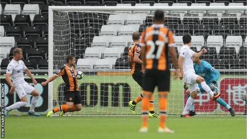 Hull make it two wins in two at Swansea