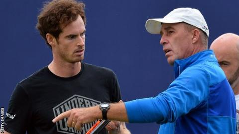 Andy Murray and Ivan Lendl