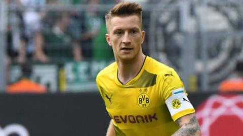 Marco Reus of Borussia Dortmund