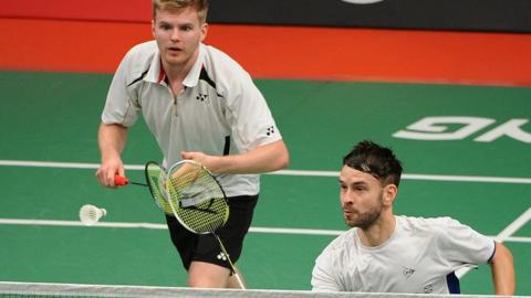 Marcus Ellis and Chris Langridge of Great Britain