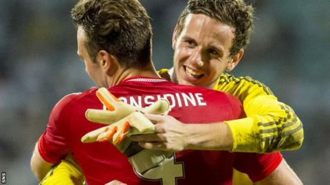Danny Ward (right) and Andrew Considine
