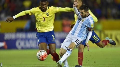 Messi hat-trick sends Argentina to World Cup