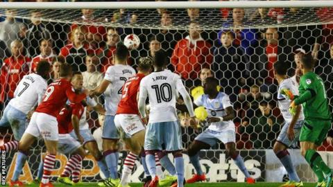 Barnsley v Aston Villa