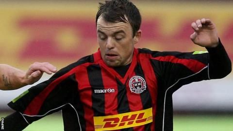 Former Bohemians player Keith Ward signs for Derry City