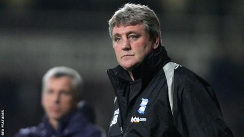Steve Bruce Birmingham City manager