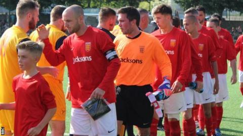 Jersey's football team