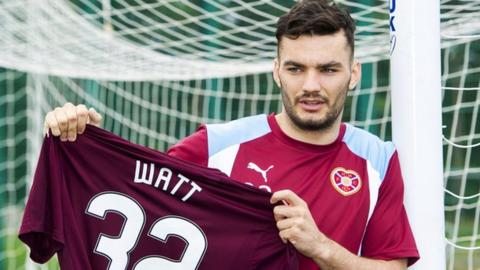 Striker Tony Watt
