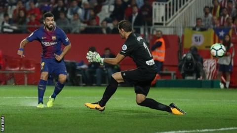 Girona 0 - 3 Barcelona Football Highlights