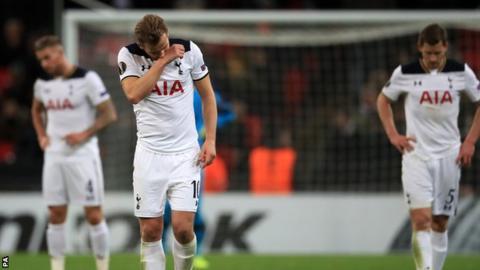 Tottenham lose to Gent