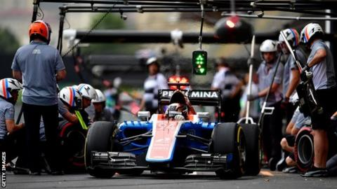 Banbury's Manor F1 team's race is run