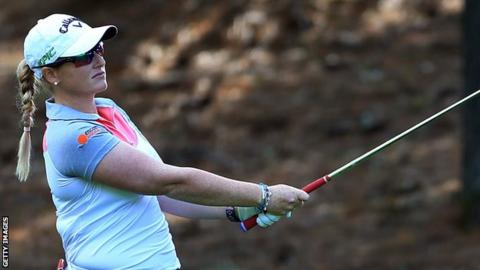 Brooke Henderson shoots course record at CP Women's Open