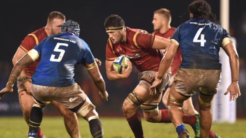 Wales debutant Rory Thornton