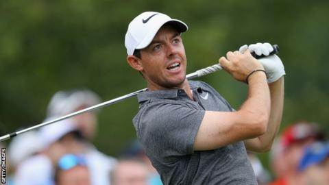 McIlroy loses ground on US PGA leaders - watch his amazing escape shot
