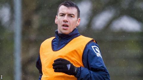 Ross County defender Paul Quinn