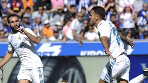 Alaves 1-2 Real Madrid Football Highlights