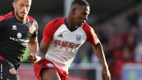 West Brom's Jonathan Leko joins Bristol City on loan