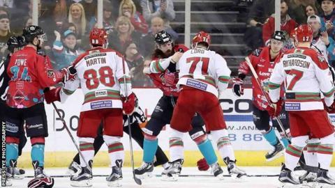 Belfast Giants v Cardiff Devils