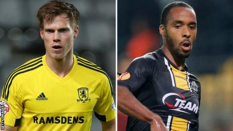 Tomas Kalas and Denis Odoi