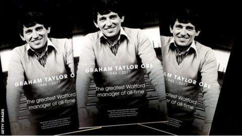 Watford's programme for the Middlesbrough match featured a tribute from chief executive Scott Duxbury