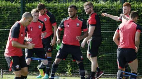 Southampton training