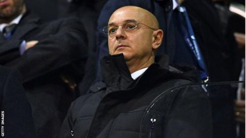 Tottenham chairman Daniel Levy claims lavish Premier League spending is unsustainable