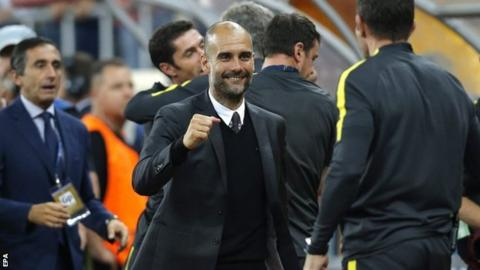 Man City are almost there – Guardiola