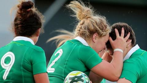 Ireland opened their Pool C campaign with an exciting win over Australia