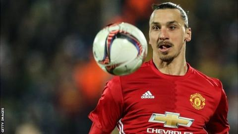 Late Ibrahimovic penalty earns draw for Man Utd against Everton