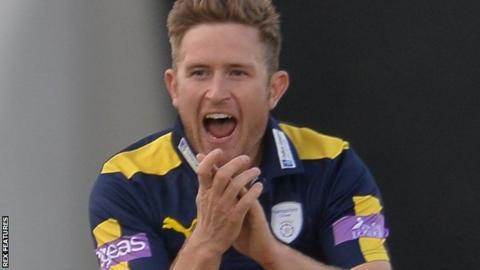 Hampshire all-rounder Liam Dawson