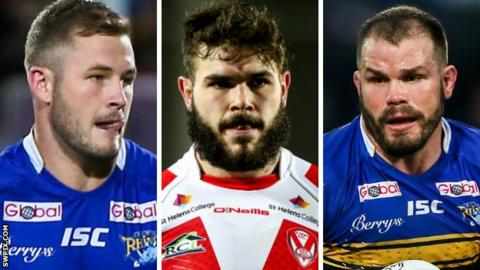 Zak Hardaker, Alex Walmsley and Adam Cuthbertson