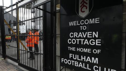 Fulham v Tottenham Hotspur