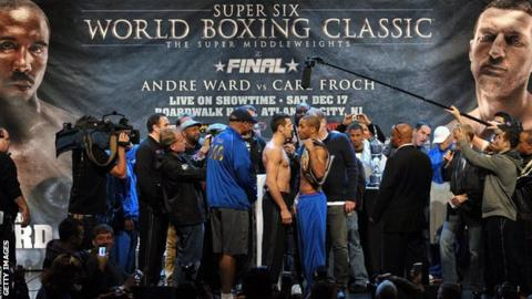 A similar Super Six World Boxing Classic, held between 2009 and 2011, saw Andre Ward beat Britain's Carl Froch in the final