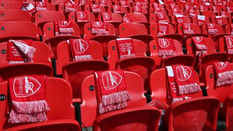 Seats at Wembley